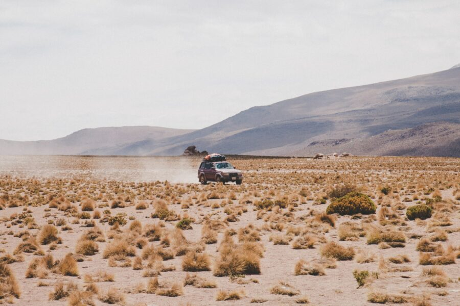 4x4 cruising in bolivia in high speed, tour with travellers around Tupiza and Salr Uyuni. Independant guide
