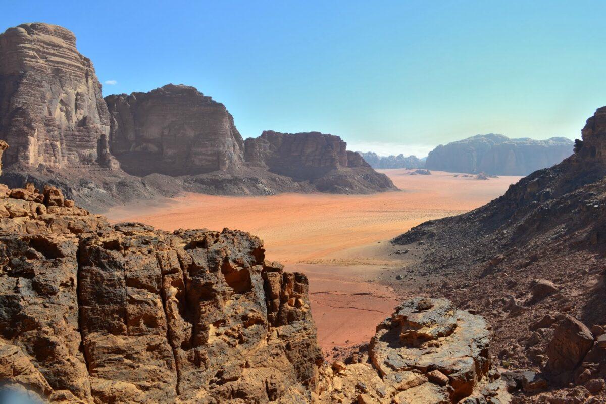Lawrence Spring au Wadi Rum