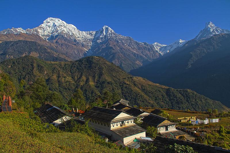 Le village de Ghandruk près de Pokhara