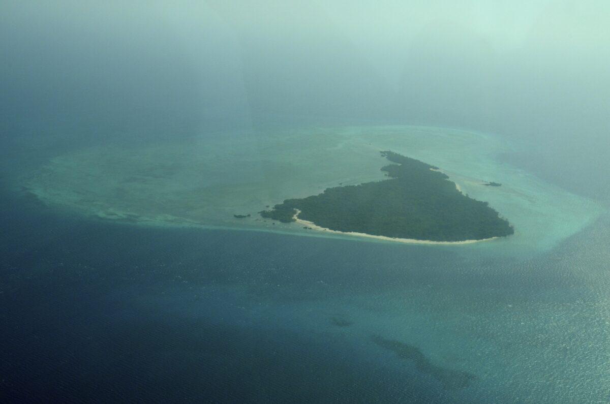 Une île isolée