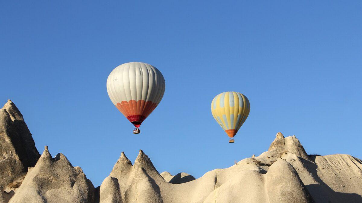 La Cappadoce: Le pays des ballons pendant les vacances d'été