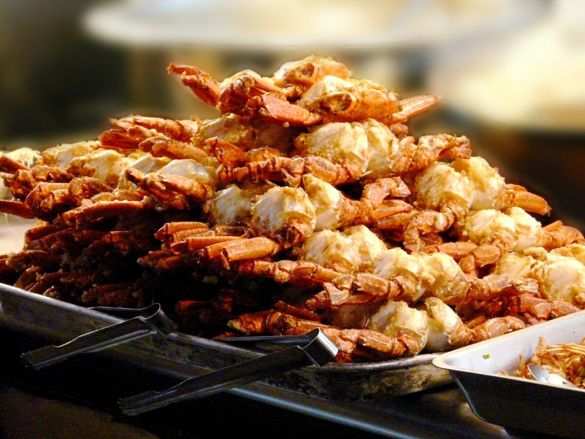 Kdam Chaa - Crabe frit au Cambodge