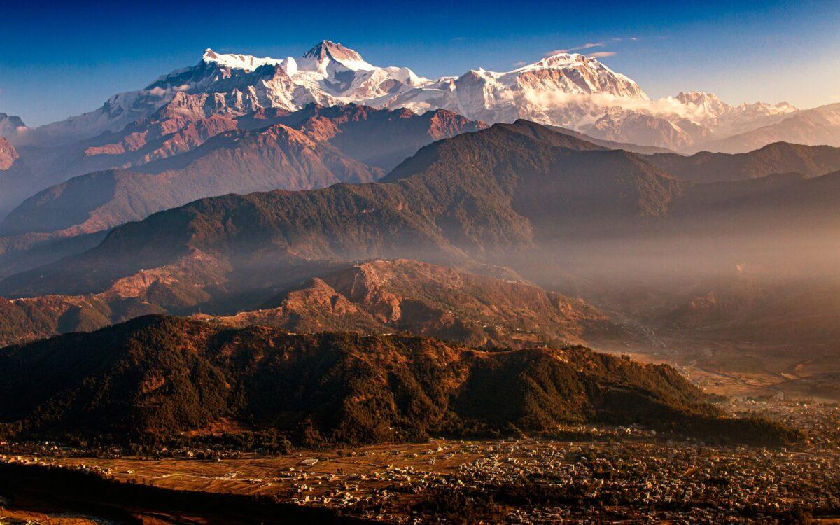 Le village de Pokhara