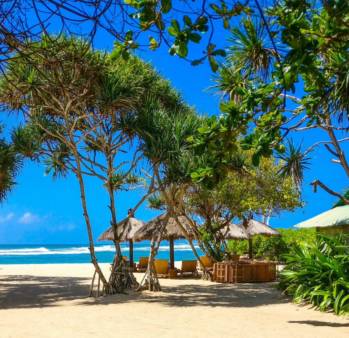 Un ciel bleu à Bali