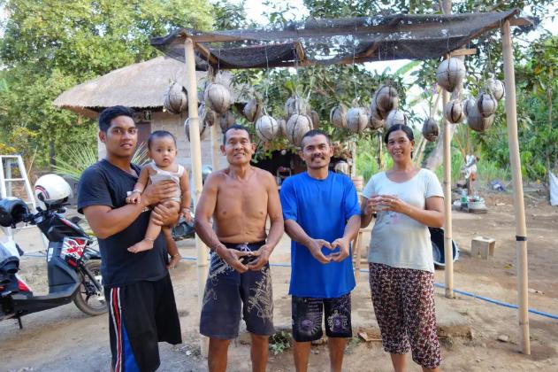 Des personnes sourds à Bali