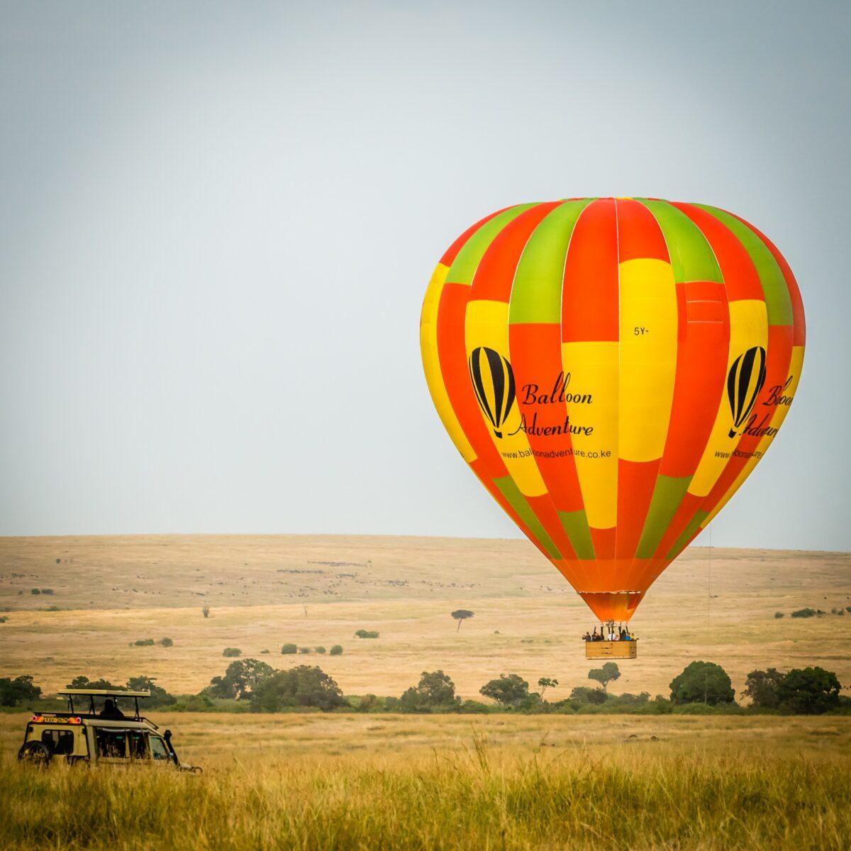 Un safari en montgolfière pour une vue aérienne