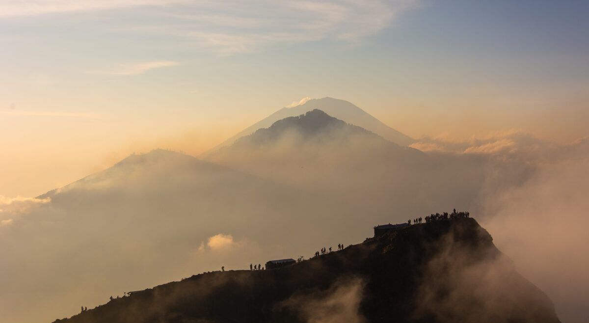 Mont Batur avec Arya