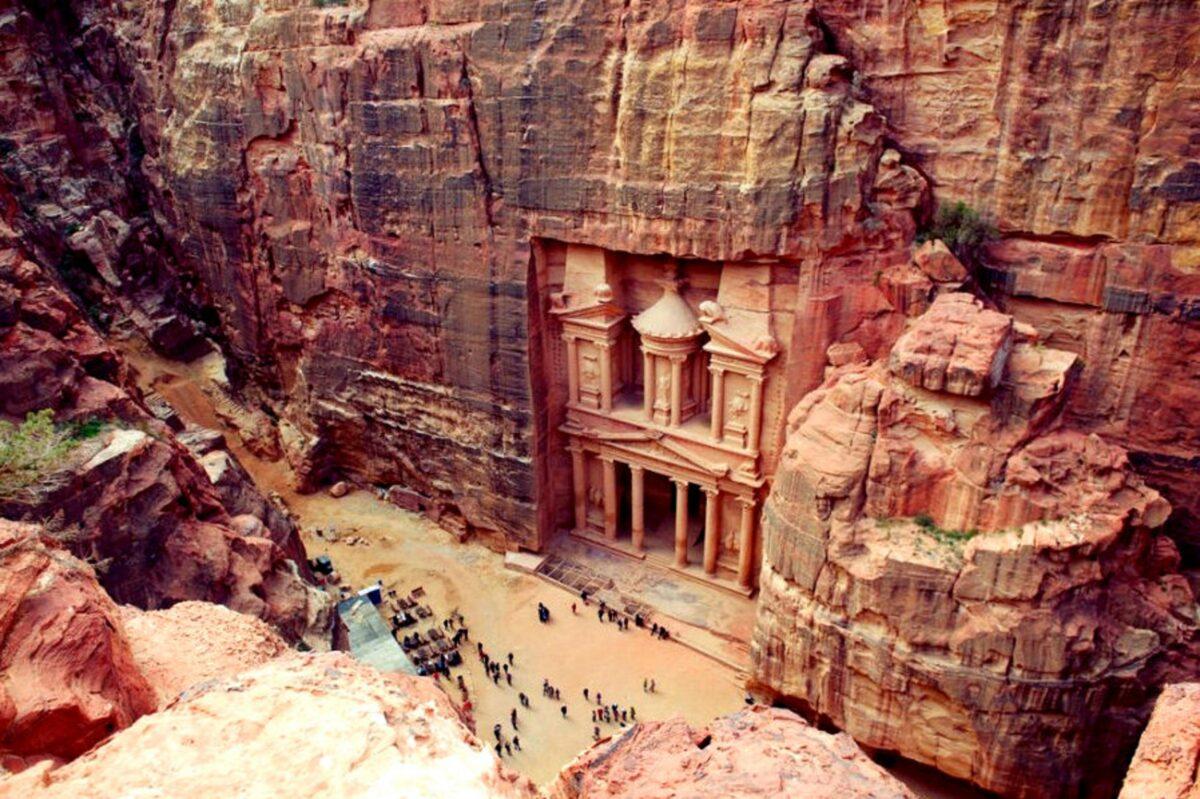 Petra en Jordanie