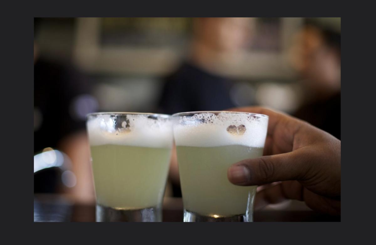 Deux verres de cocktail