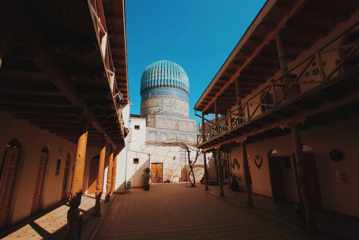 Mosquée Samarcande en Ouzbékistan