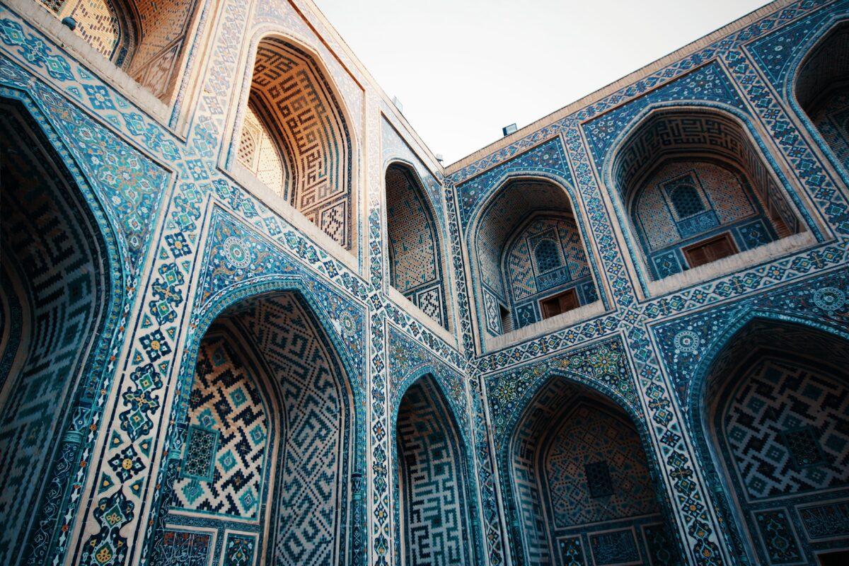 Nécropole en Ouzbékistan