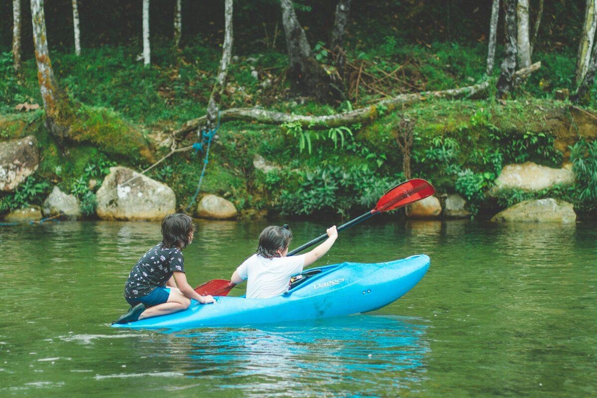 Pérou en famille : canoë