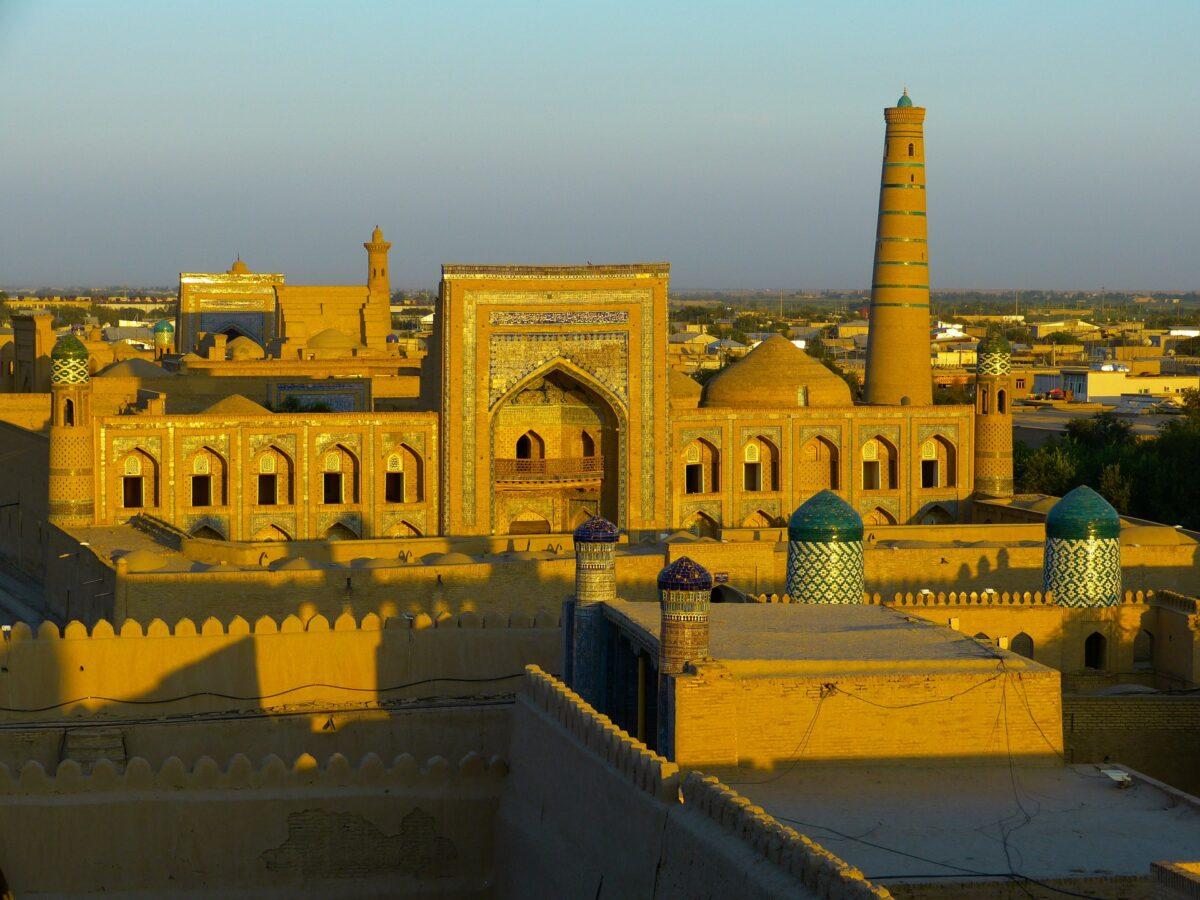 Khiva en Ouzbékistan