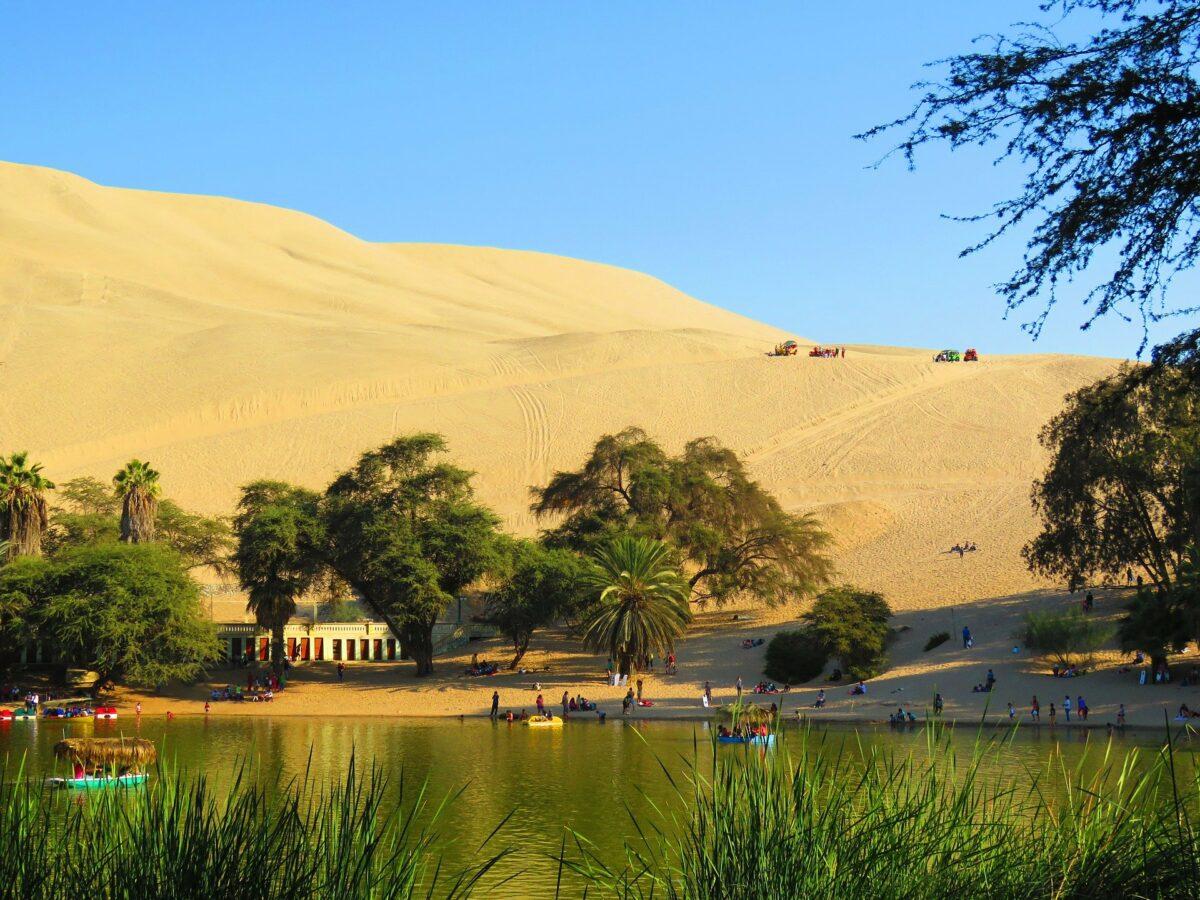 Oasis du désert de Huacachina