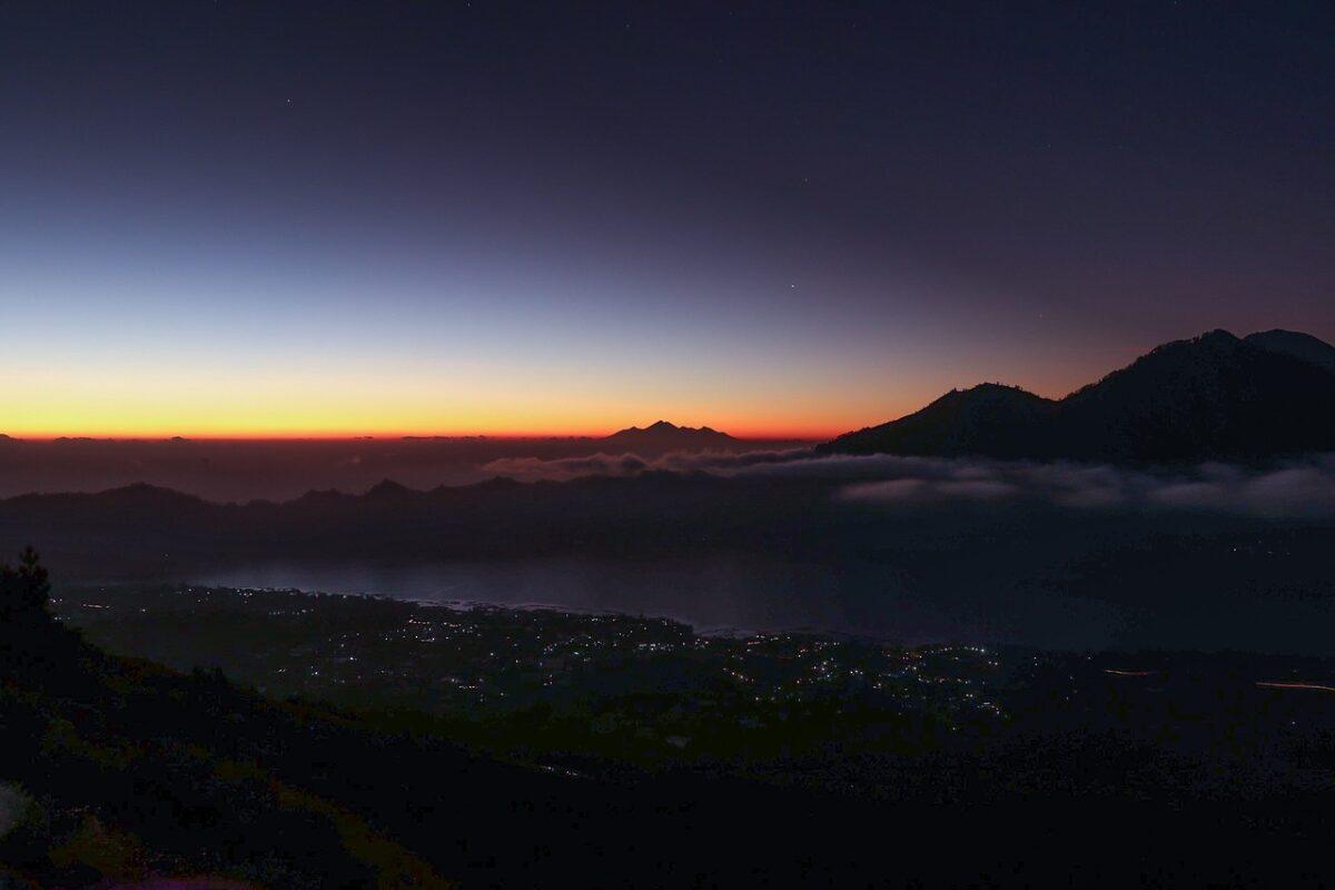 Le Mont Batur