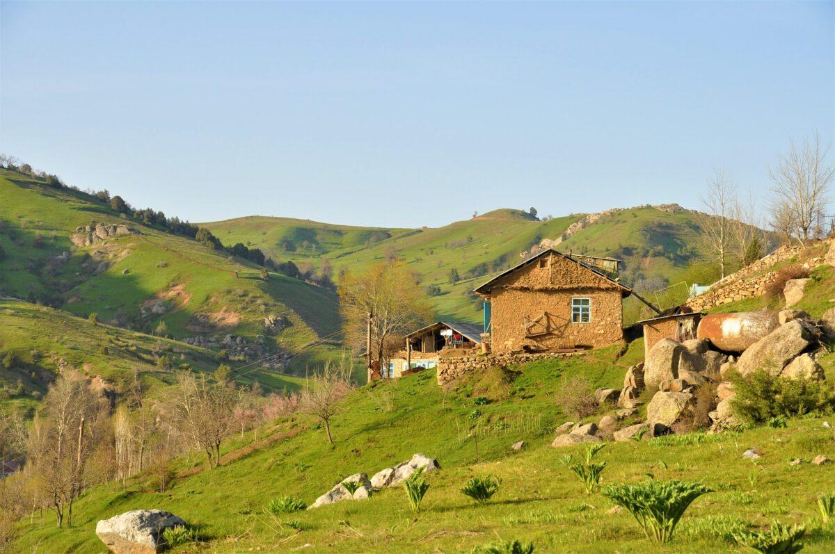 Montagne en Ouzbékistan