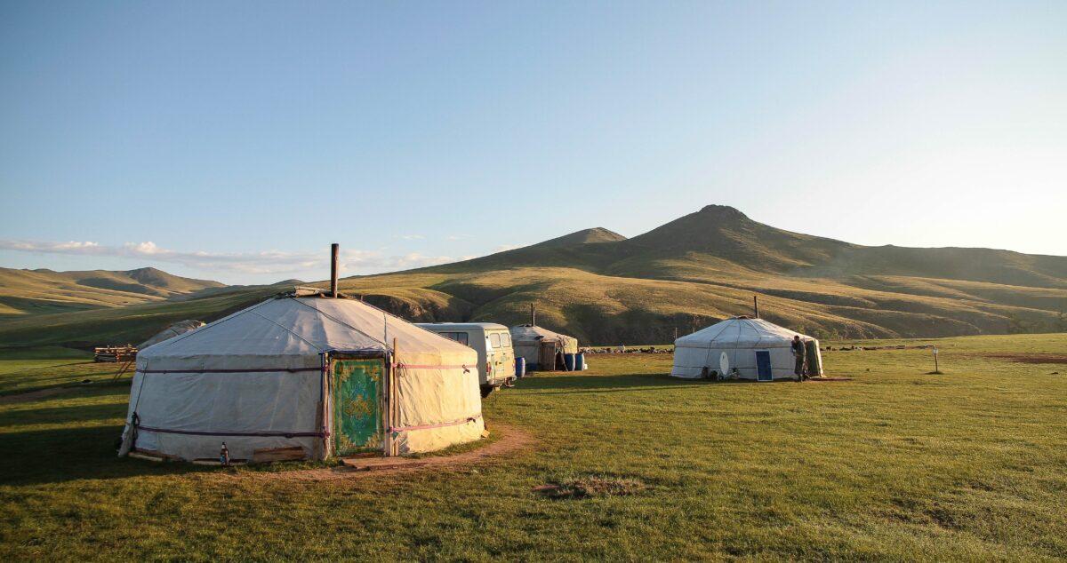 Yourte en Ouzbékistan