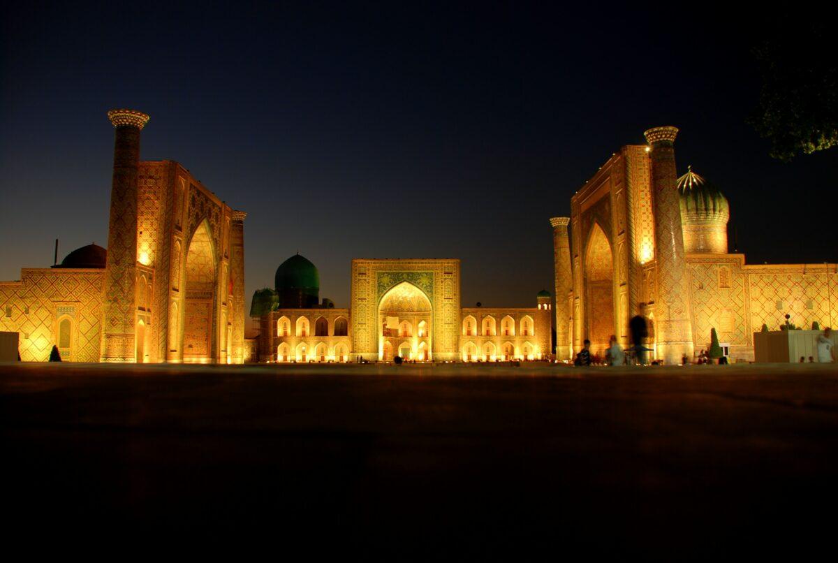 Monument en Ouzbékistan