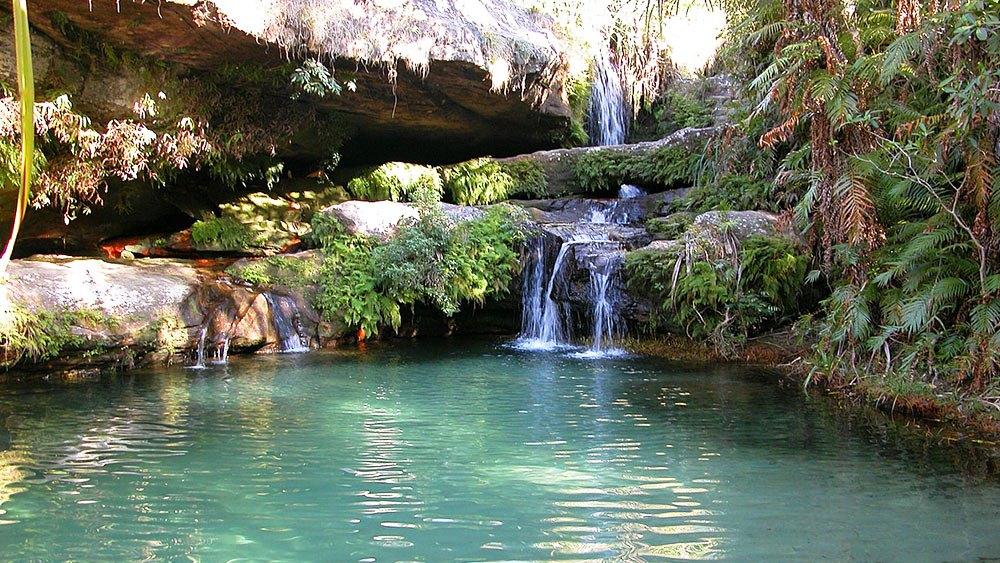 isalo parc cascade madagascar