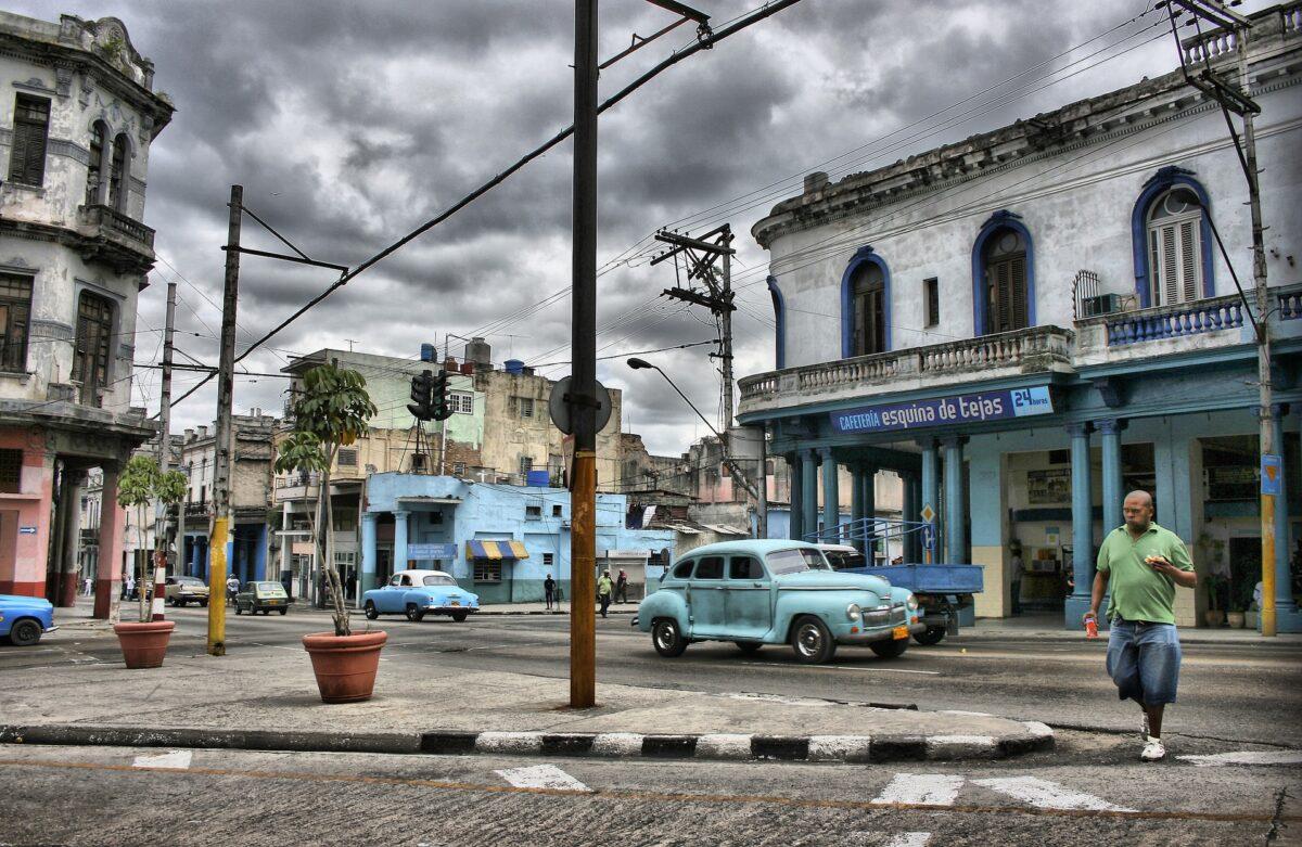 Un quartier à la Havane