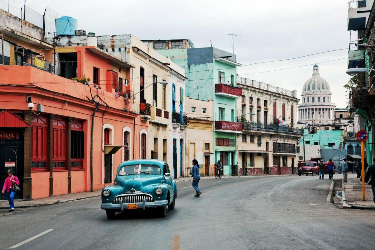 La Havane : rue de Cuba