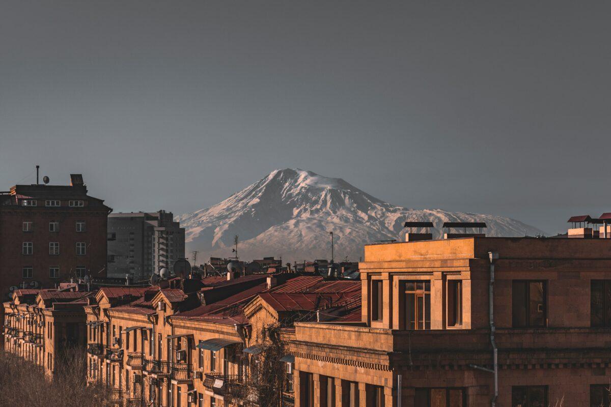 ville Erevan en Arménie