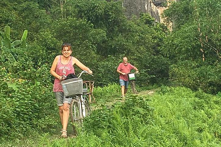Vietnam vélo couple