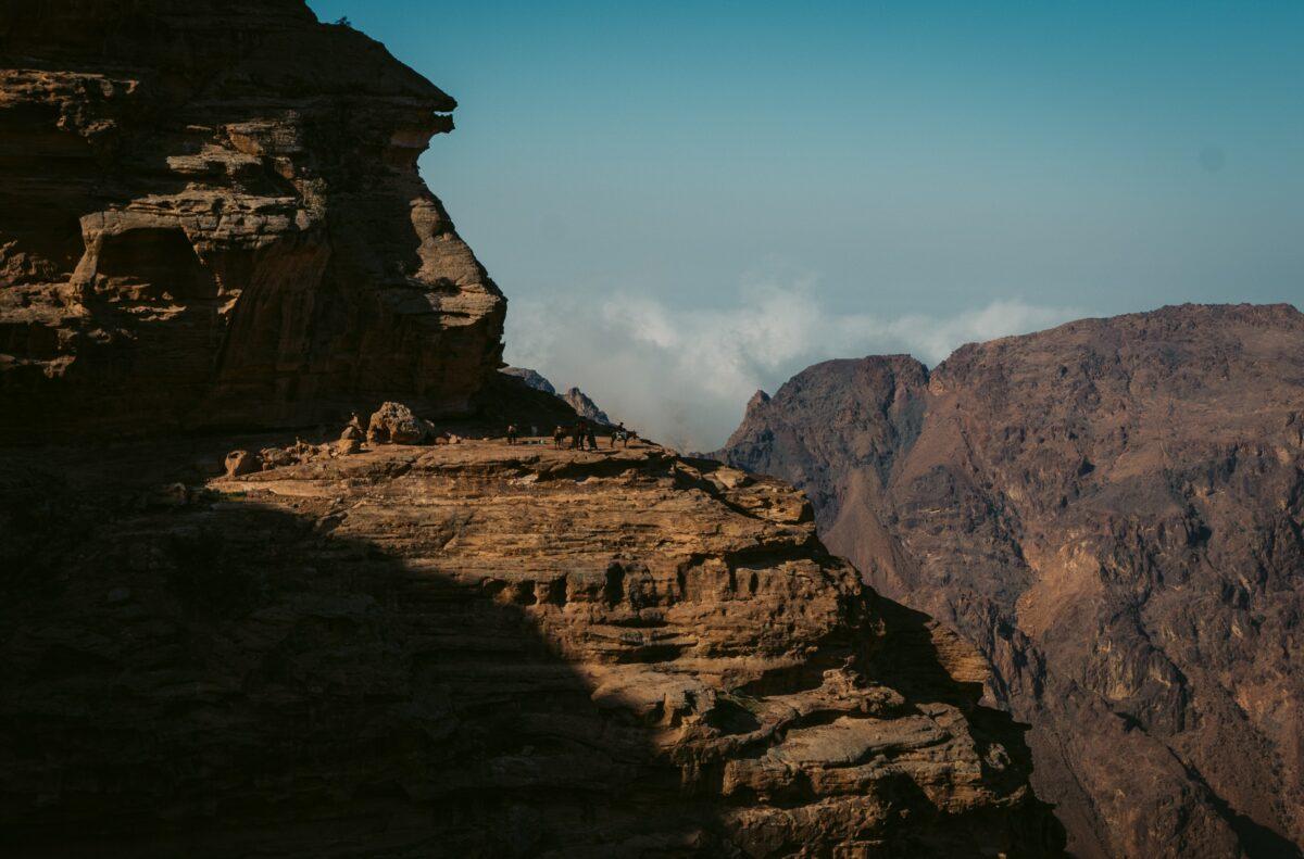 Jordanie montagne