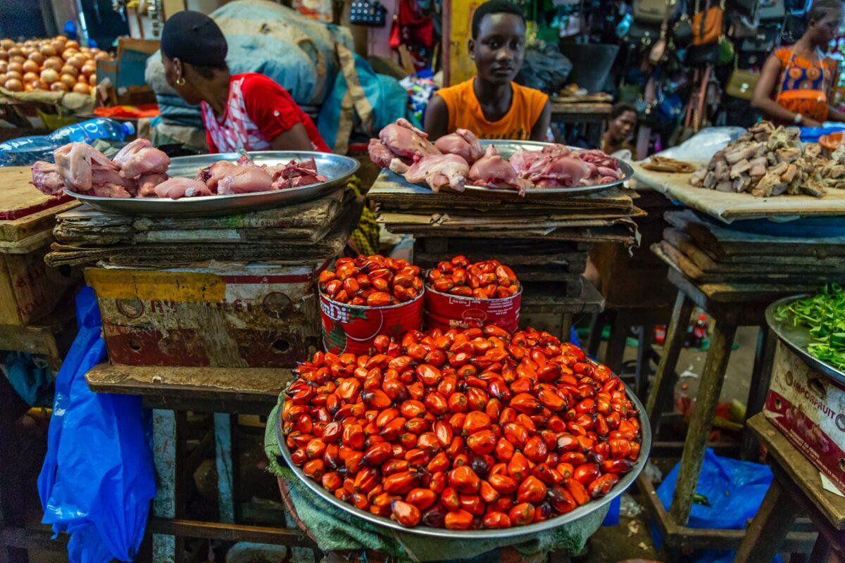 Botswana market
